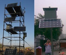 施工现场扬尘的无线监测系统